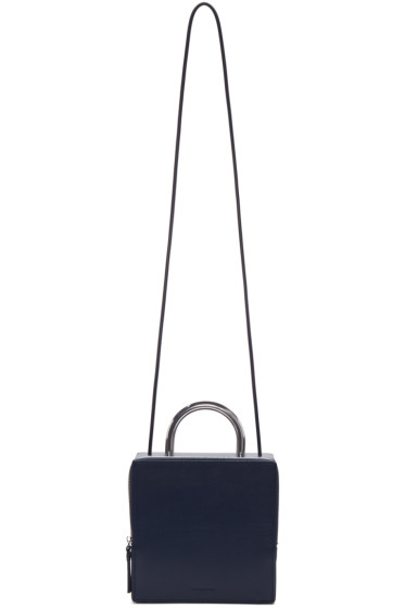 Building Block - Navy Box Bag