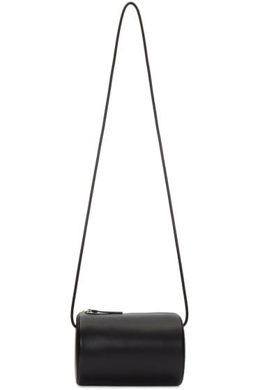 Building Block - Black Cylinder Sling Bag