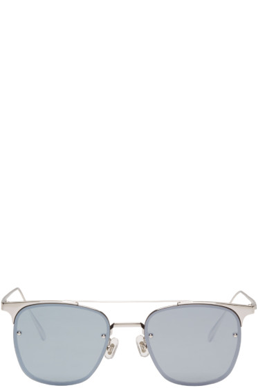 Gentle Monster - Silver Fame Sunglasses