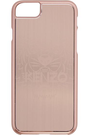 Kenzo - Pink Aluminum Tiger iPhone 7 Case