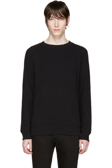 R13 - Black Side Zip Pullover