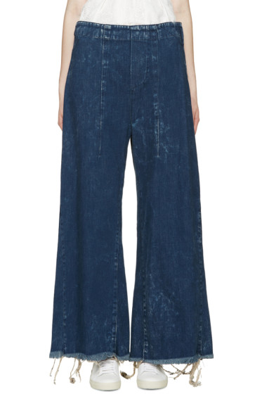 Chloé - Indigo Wide-Leg Jeans