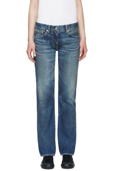 Visvim - Blue Social Sculptures Slim-Fit Jeans