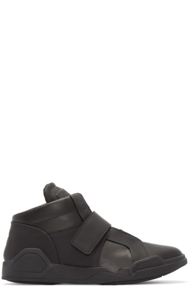 Marcelo Burlon County of Milan - Black Libertad Mid-Top Sneakers