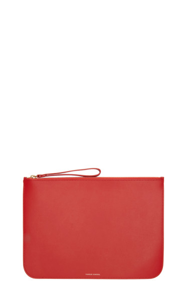 Mansur Gavriel - Red Leather Slim Pouch