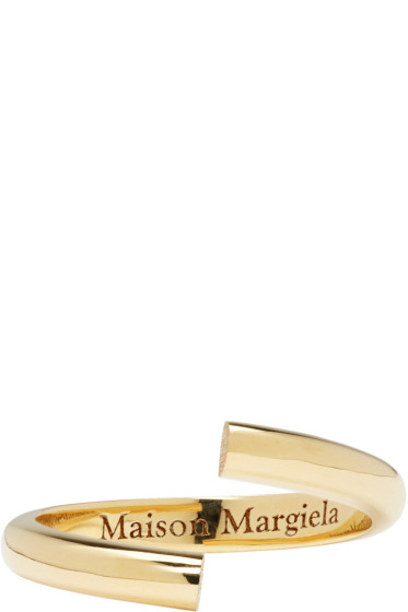 Maison Margiela Fine Jewellery - Yellow Gold Alliance Split Ring