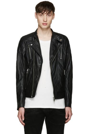 Diesel - Black L-Rambi Biker Jacket