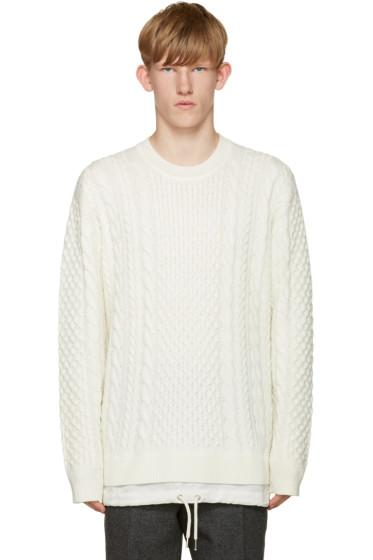 Diesel - Off-White K-Pigris Sweater