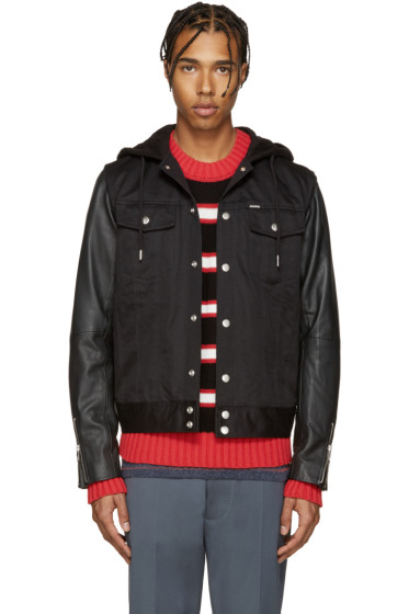 Diesel - Black Denim S-Fighters Jacket