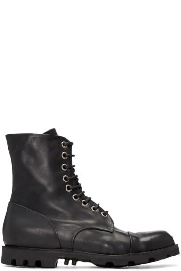 Diesel - Black Steel Boots