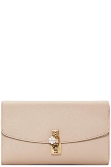 Dolce & Gabbana - Beige Dolce Pochette Clutch
