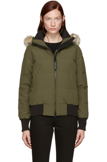 Canada Goose - Green Down Savona Jacket