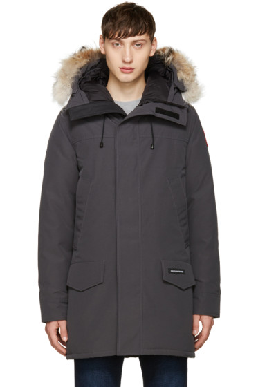 Canada Goose - Grey Down & Fur Langford Parka