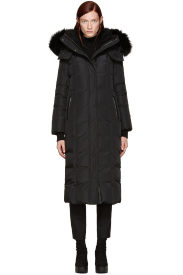Mackage - SSENSE Exclusive Black Down Jada Coat