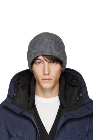 Mackage - Grey Wool Taz Beanie