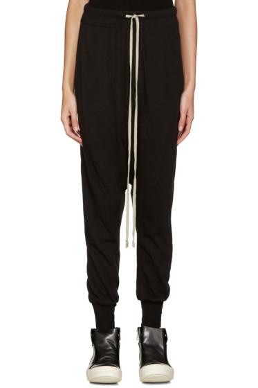 Rick Owens Lilies - Black Jersey Lounge Pants