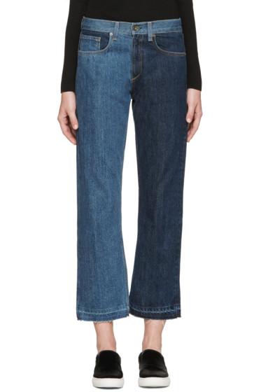 Rag & Bone - Indigo 2 Tone Crop Jeans