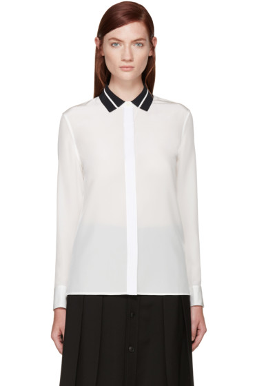 Rag & Bone - White Silk Nico Blouse