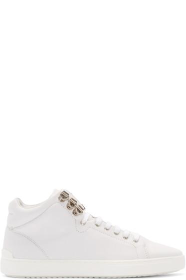 Rag & Bone - White Kent High-Top Sneakers