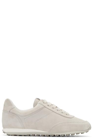 Rag & Bone - Grey Suede Dylan Sneakers