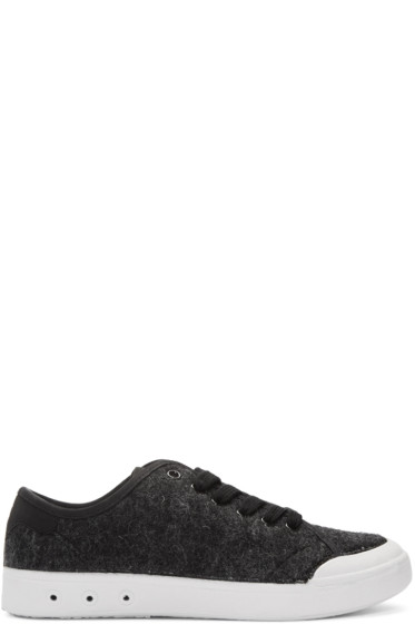 Rag & Bone - Black Wool Standard Issue Sneakers
