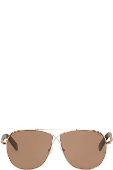 Tom Ford - Rose Gold April Sunglasses