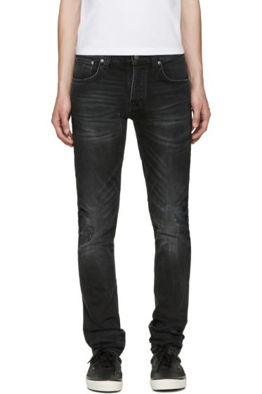 Nudie Jeans - Black Grim Tim Jeans