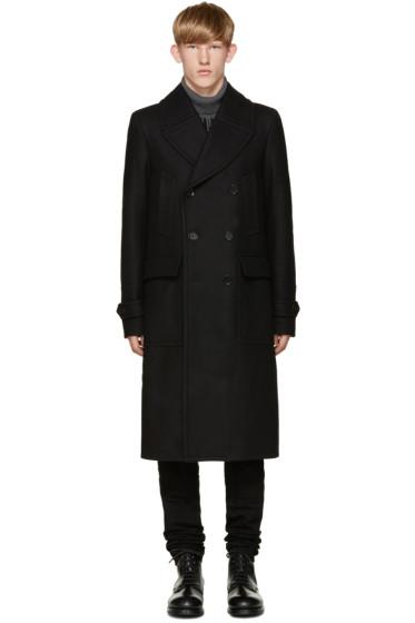 Belstaff - Black Wool Milton Wool Coat