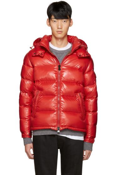 Moncler - Red Maya Down Jacket