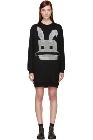 McQ Alexander Mcqueen - Black Bunny Dress