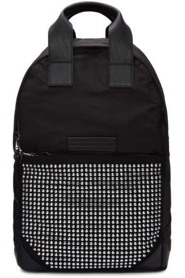 McQ Alexander Mcqueen - Black Studded Backpack