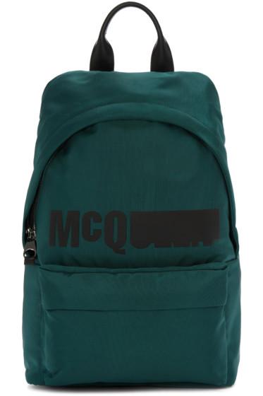 McQ Alexander Mcqueen - Green Classic Backpack