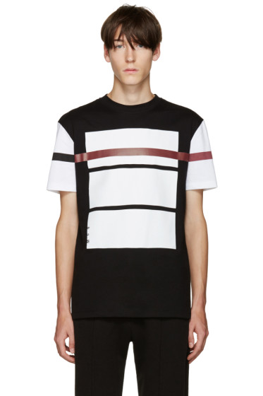 McQ Alexander Mcqueen - Black Graphic T-Shirt