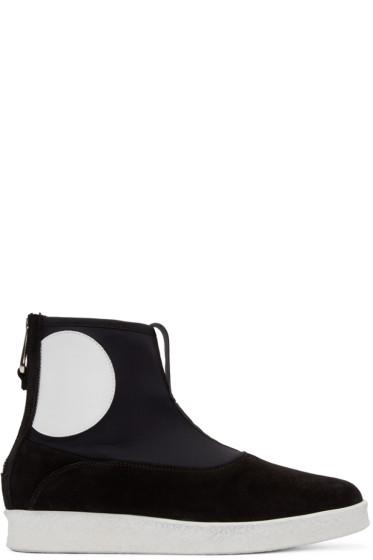 McQ Alexander Mcqueen - Black Takeshi Boots
