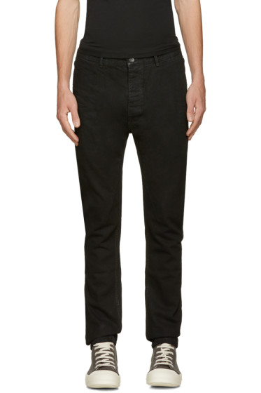 Rick Owens Drkshdw - Black Torrence Jeans