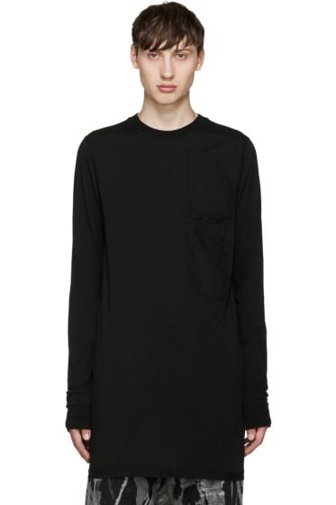 Rick Owens Drkshdw - Black Pocket T-Shirt
