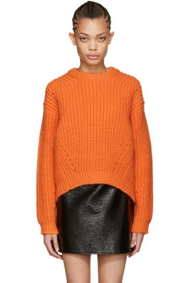 Acne Studios - Orange Wool Hira Sweater