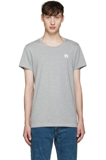 Acne Studios - Grey Standard Face T-Shirt