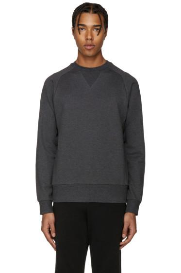 Y-3 - Grey Cotton Sweatshirt