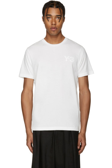 Y-3 - White Logo T-Shirt