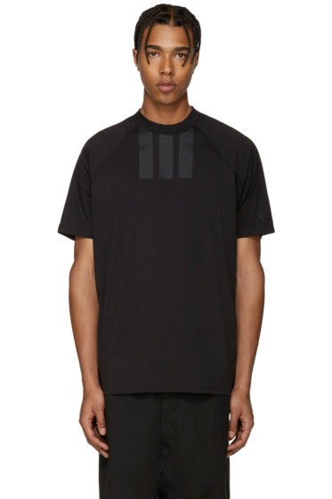 Y-3 - Black Stripe T-Shirt