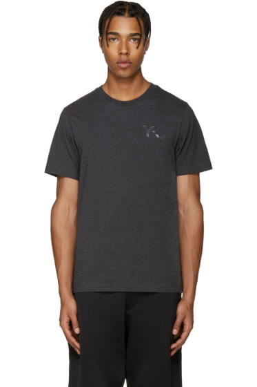 Y-3 - Grey Logo T-Shirt
