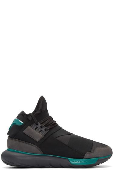 Y-3 - Black Qasa High Sneakers