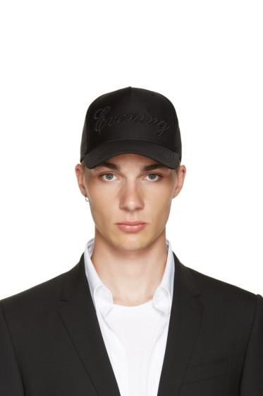 Dsquared2 - Black 'Evening' Cap