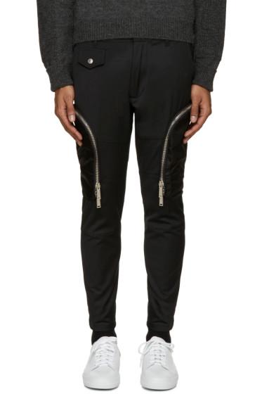 Dsquared2 - Black Twill Cargo Pants