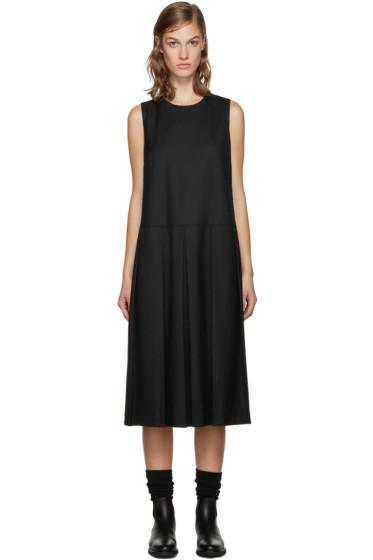 YMC - Black Pleated Dress