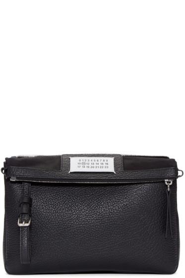 Maison Margiela - Black Leather Double Bag