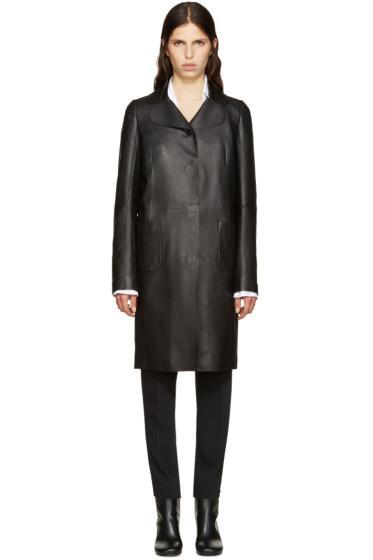 Maison Margiela - Black Lambskin Jacket