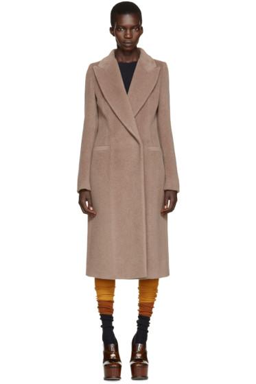 Maison Margiela - Brown Alpaca Coat