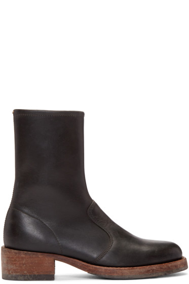 Maison Margiela - Black Vintage Trunk Boots